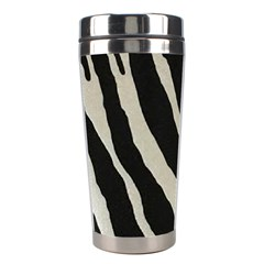 Zebra Print Stainless Steel Travel Tumblers by NSGLOBALDESIGNS2