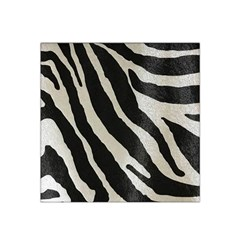 Zebra Print Satin Bandana Scarf by NSGLOBALDESIGNS2