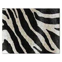 Zebra Print Rectangular Jigsaw Puzzl by NSGLOBALDESIGNS2
