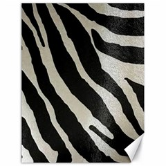 Zebra Print Canvas 18  X 24  by NSGLOBALDESIGNS2