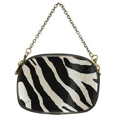 Zebra Print Chain Purse (two Sides) by NSGLOBALDESIGNS2