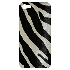 Zebra Print Apple Iphone 5 Hardshell Case by NSGLOBALDESIGNS2