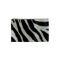 Zebra Print Cosmetic Bag (small) by NSGLOBALDESIGNS2