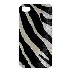 Zebra Print Apple Iphone 4/4s Premium Hardshell Case by NSGLOBALDESIGNS2