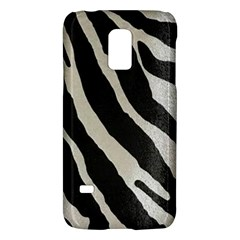 Zebra Print Samsung Galaxy S5 Mini Hardshell Case  by NSGLOBALDESIGNS2