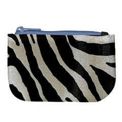 Zebra Print Large Coin Purse by NSGLOBALDESIGNS2