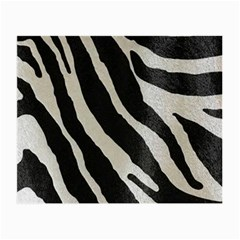 Zebra Print Small Glasses Cloth by NSGLOBALDESIGNS2