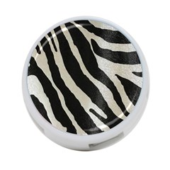 Zebra Print 4 Port Usb Hub (two Sides) by NSGLOBALDESIGNS2