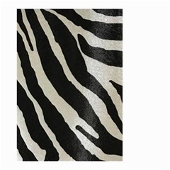 Zebra Print Small Garden Flag (two Sides) by NSGLOBALDESIGNS2