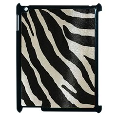 Zebra Print Apple Ipad 2 Case (black) by NSGLOBALDESIGNS2