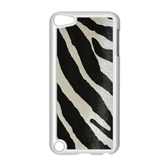 Zebra Print Apple Ipod Touch 5 Case (white) by NSGLOBALDESIGNS2