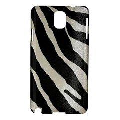 Zebra Print Samsung Galaxy Note 3 N9005 Hardshell Case by NSGLOBALDESIGNS2