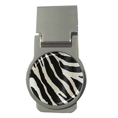 Zebra Print Money Clips (round)  by NSGLOBALDESIGNS2
