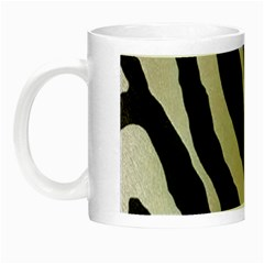 Zebra Print Night Luminous Mugs by NSGLOBALDESIGNS2
