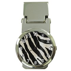 Zebra Print Money Clip Watches by NSGLOBALDESIGNS2