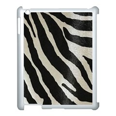 Zebra Print Apple Ipad 3/4 Case (white) by NSGLOBALDESIGNS2