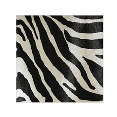 Zebra Print Small Satin Scarf (square) by NSGLOBALDESIGNS2