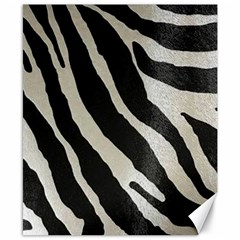 Zebra Print Canvas 8  X 10  by NSGLOBALDESIGNS2