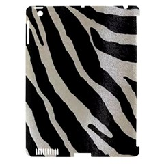 Zebra Print Apple Ipad 3/4 Hardshell Case (compatible With Smart Cover) by NSGLOBALDESIGNS2