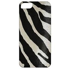 Zebra Print Apple Iphone 5 Classic Hardshell Case by NSGLOBALDESIGNS2