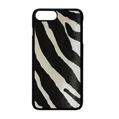 Zebra Print Apple Iphone 8 Plus Seamless Case (black) by NSGLOBALDESIGNS2