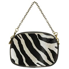 Zebra Print Chain Purse (one Side) by NSGLOBALDESIGNS2