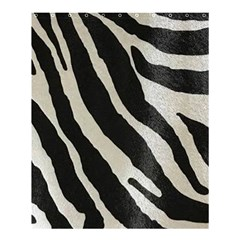 Zebra Print Shower Curtain 60  X 72  (medium)  by NSGLOBALDESIGNS2