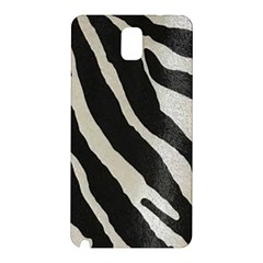 Zebra Print Samsung Galaxy Note 3 N9005 Hardshell Back Case by NSGLOBALDESIGNS2