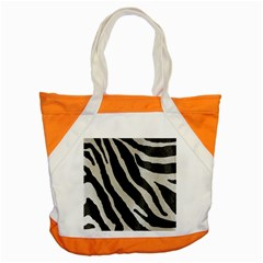 Zebra Print Accent Tote Bag by NSGLOBALDESIGNS2