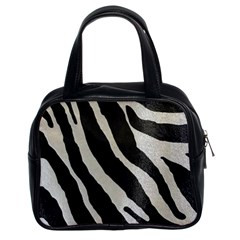 Zebra Print Classic Handbag (two Sides) by NSGLOBALDESIGNS2
