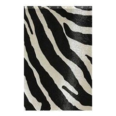 Zebra Print Shower Curtain 48  X 72  (small)  by NSGLOBALDESIGNS2