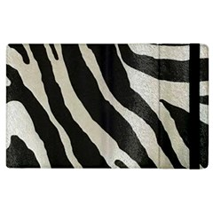 Zebra Print Apple Ipad 2 Flip Case by NSGLOBALDESIGNS2