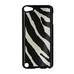 Zebra Print Apple Ipod Touch 5 Case (black) by NSGLOBALDESIGNS2