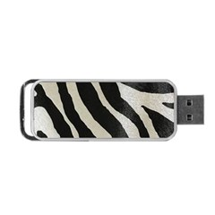 Zebra 2 Print Portable Usb Flash (two Sides) by NSGLOBALDESIGNS2