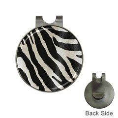 Zebra 2 Print Hat Clips With Golf Markers