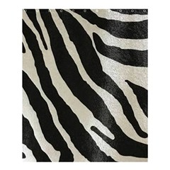 Zebra 2 Print Shower Curtain 60  X 72  (medium)  by NSGLOBALDESIGNS2