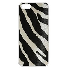 Zebra 2 Print Apple Iphone 5 Seamless Case (white) by NSGLOBALDESIGNS2