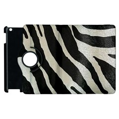 Zebra 2 Print Apple Ipad 3/4 Flip 360 Case by NSGLOBALDESIGNS2