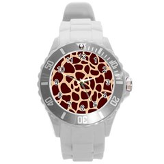 Gulf Lrint Round Plastic Sport Watch (l) by NSGLOBALDESIGNS2
