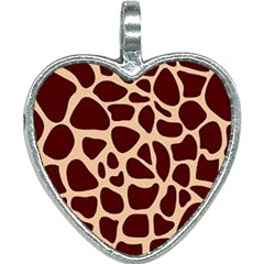 Gulf Lrint Heart Necklace by NSGLOBALDESIGNS2