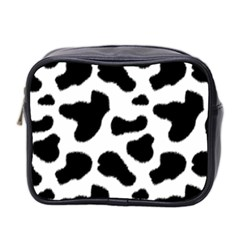 Cheetah Print Mini Toiletries Bag (two Sides)