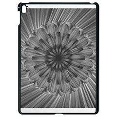 Sunflower Print Apple Ipad Pro 9 7   Black Seamless Case