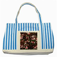 Victoria s Secret One Striped Blue Tote Bag by NSGLOBALDESIGNS2