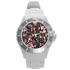 Victoria s Secret One Round Plastic Sport Watch (l) by NSGLOBALDESIGNS2