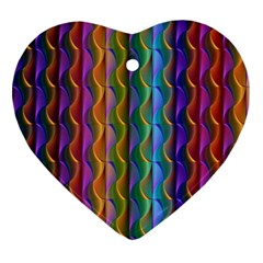 Background Wallpaper Psychedelic Ornament (heart) by Samandel