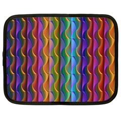 Background Wallpaper Psychedelic Netbook Case (xxl)