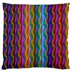 Background Wallpaper Psychedelic Large Flano Cushion Case (one Side) by Samandel