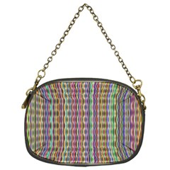 Psychedelic Background Wallpaper Chain Purse (one Side)