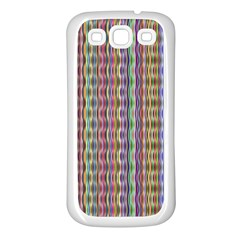 Psychedelic Background Wallpaper Samsung Galaxy S3 Back Case (white) by Samandel