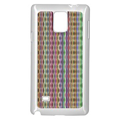 Psychedelic Background Wallpaper Samsung Galaxy Note 4 Case (white)